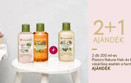 2+1 SPECIAL OFFERS AT YVES ROCHER STORE